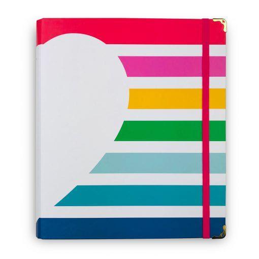 Caderno Fichário Arco-Íris