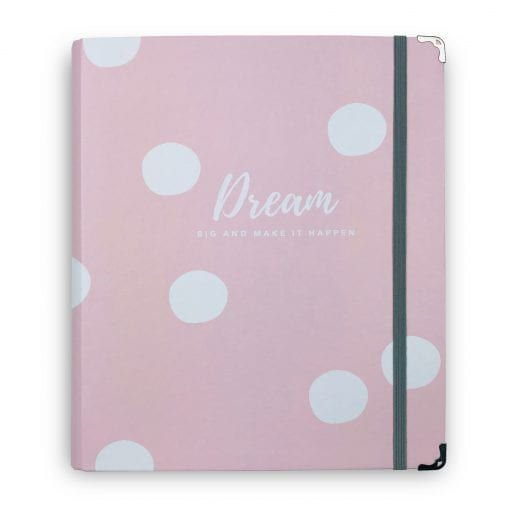 Caderno Fichário Rosa Dream