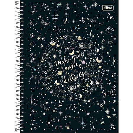 Caderno Espiral 160 Folhas Magic Astros