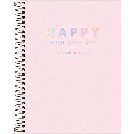 Planner Happy Grande 2021 Rosa