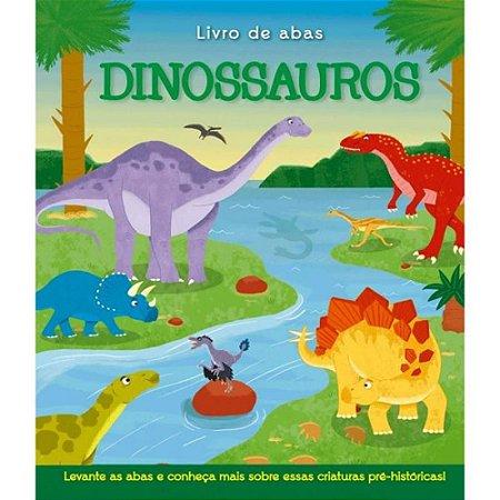 Livro Levante a Aba Dinossauros
