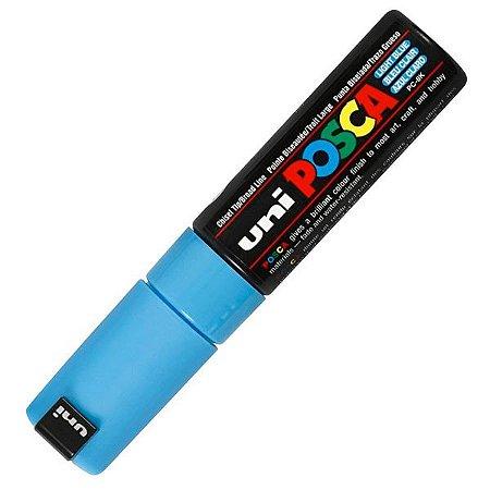 Caneta Posca - PC-8K - Azul Claro