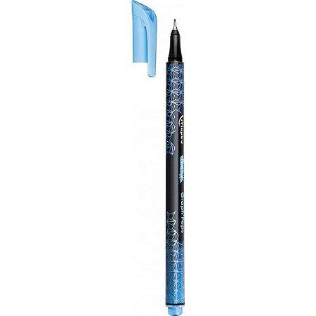 Caneta Graph's Peps Ponta Fina Azul