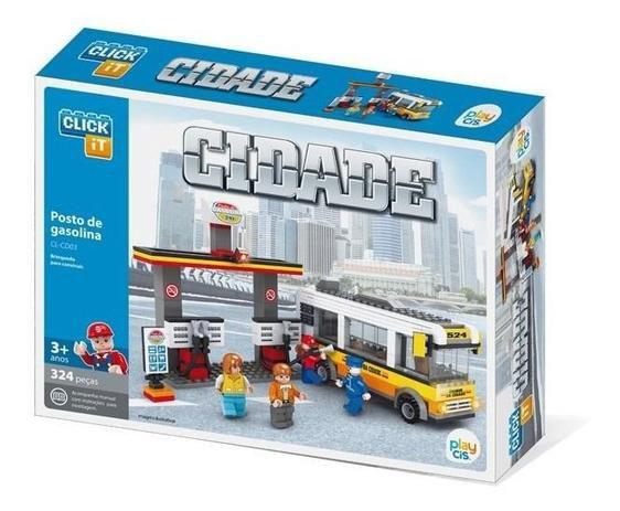 Brinquedo Lego Posto de Gasolina 324 Peças