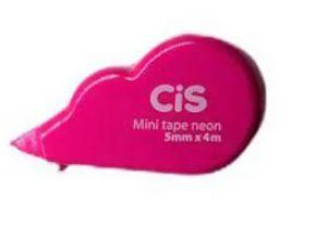 Mini Fita Corretiva Neon Rosa