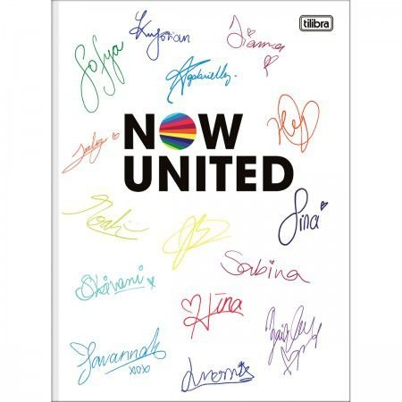 Caderno Brochura Now United Autógrafos