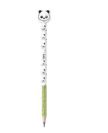 Lápis Preto com Borracha Panda