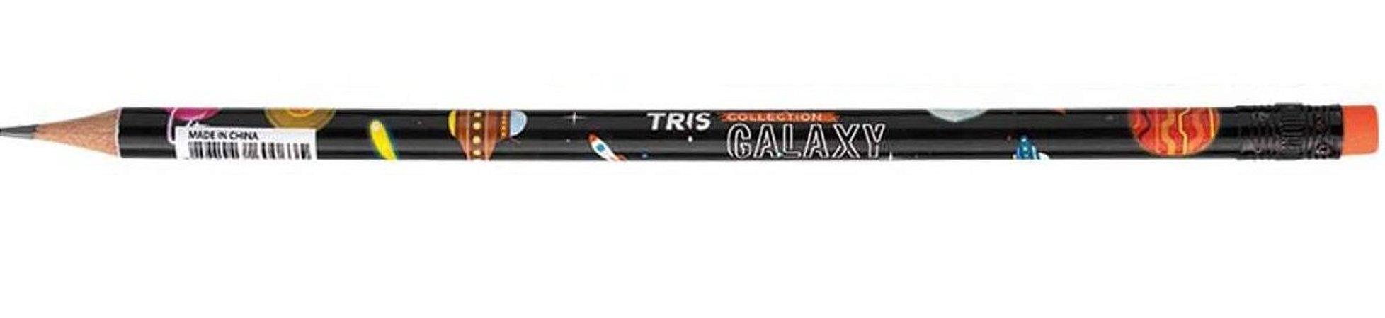 Lápis para Escrever Galaxy Vermelho