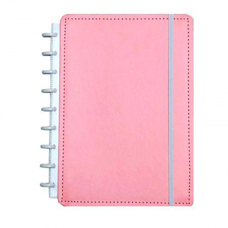 Caderno Inteligente Rosa Pastel Grande