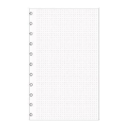 Refil Pontilhado Caderno Inteligente A5