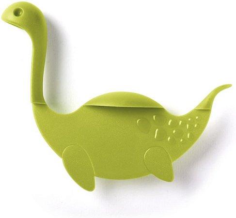 Marcador de Página Dinossauro Verde
