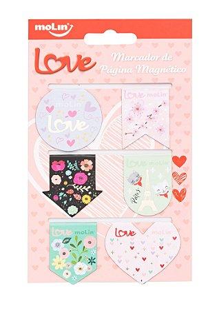 Marcador Magnético Love