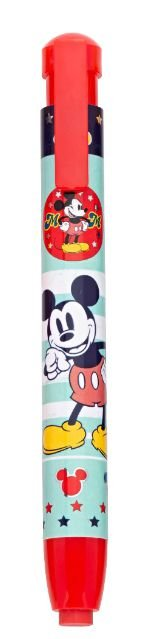 Caneta Borracha Michey Mouse Vermelha