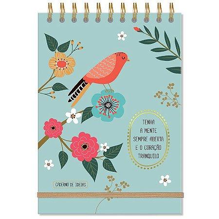Caderno de Anotações Pássaros