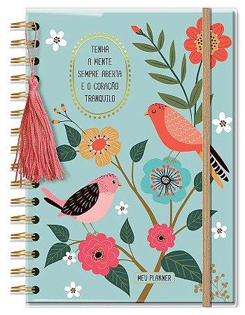 Planner Permanente Médio Pássaros