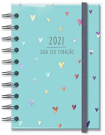 Agenda 2021 Corações Holográficos
