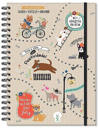 Caderno Cachorro Grande 96 folhas