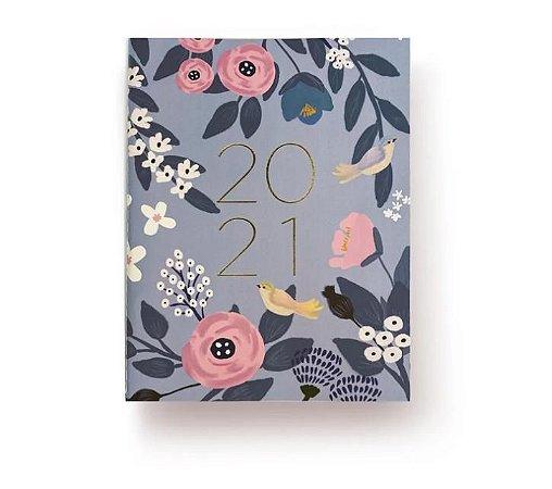 Planner Floral Lilás 2021