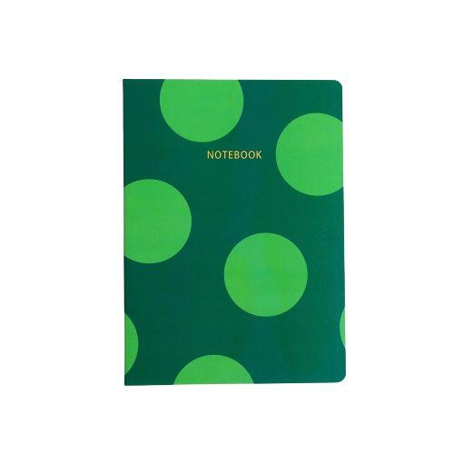 Brochura Pautada Verde Poá Grande