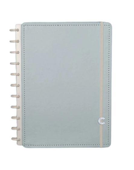 Caderno Inteligente Azul Pastel Médio