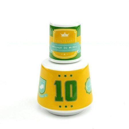 Moringa de Porcelana Brasil Camisa 10