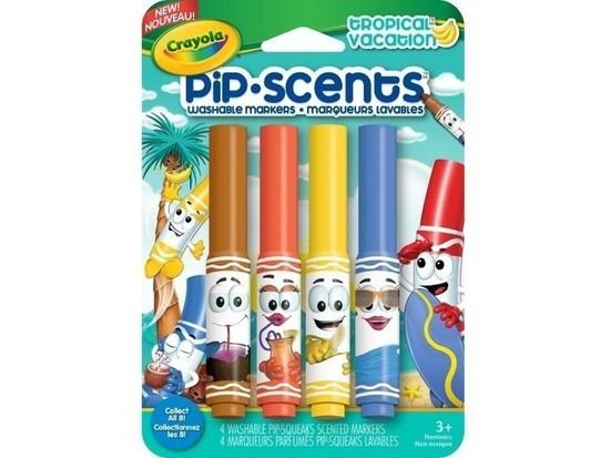 Canetinha Perfumada Pip Scents Crayola - Tropical Vacation