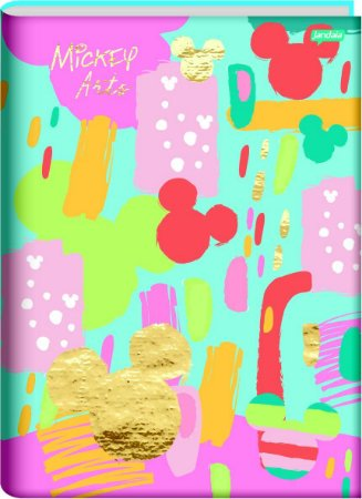 Caderno Brochura Mickey Mouse Azul e Rosa