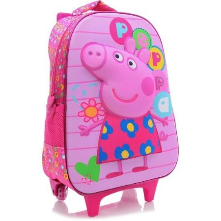 Mochila de Rodinhas Peppa Pig