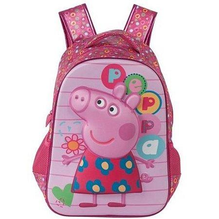 """Mochila 14"""" Peppa Pig"""