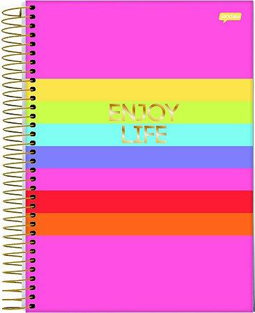 Caderno Espiral 1 Matéria Enjoy Life