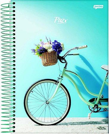 Caderno Espiral 10 Matérias Bicicleta