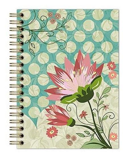 Caderno Botanical  Verde-Claro