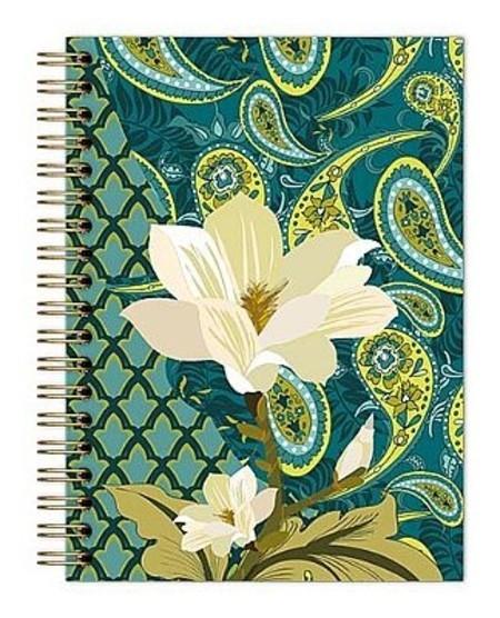 Caderno Botanical  Verde-Escuro