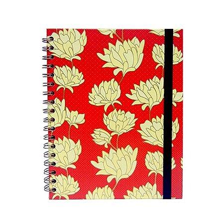 Caderno Belle Vermelho