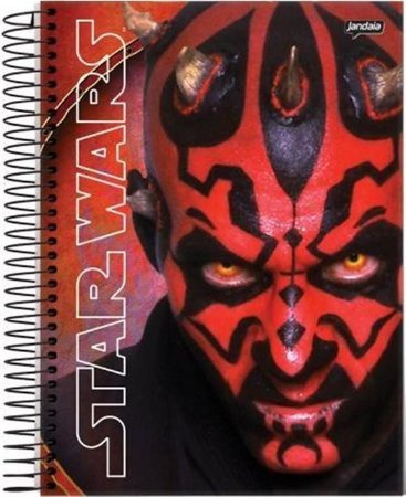 Caderno Star Wars Darth Maul 200 Folhas
