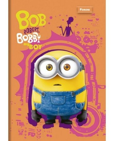Caderno Brochurão Minion Bob