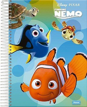 Caderno Procurando Nemo 96 Folhas