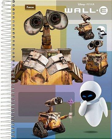 Caderno Wall-E 96 Folhas