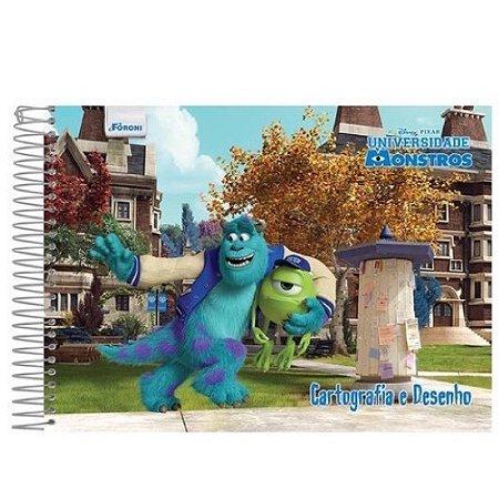 Caderno de Cartografia e Desenho Universidade Monstros