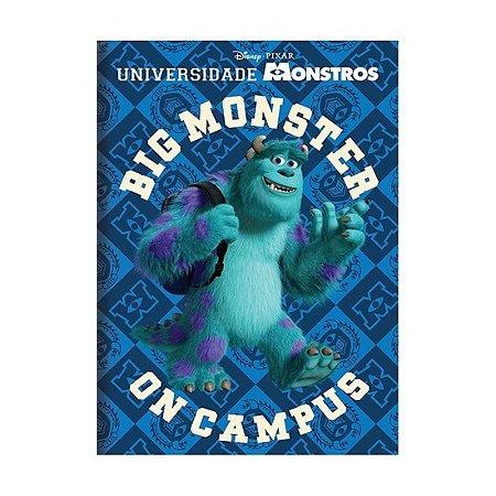 Caderno Brochura Universidade Monstros Azul
