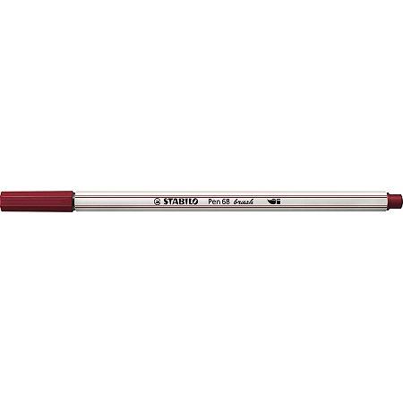 Caneta Stabilo Brush Pen 68/19 Púrpura