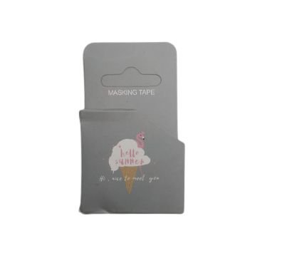 Fita Adesiva Washi Tape Flamingo