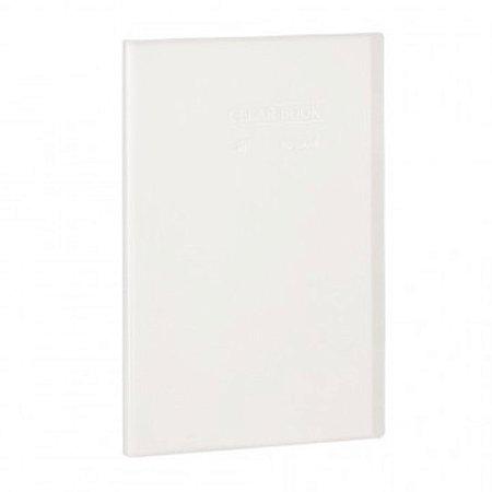 Pasta Catálogo ClearBook 10 folhas A4 Cristal