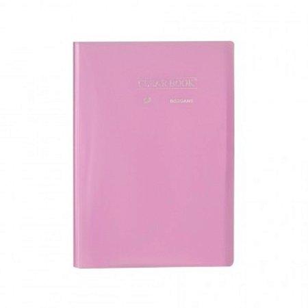 Pasta Catálogo ClearBook 20 folhas A4 Lilás