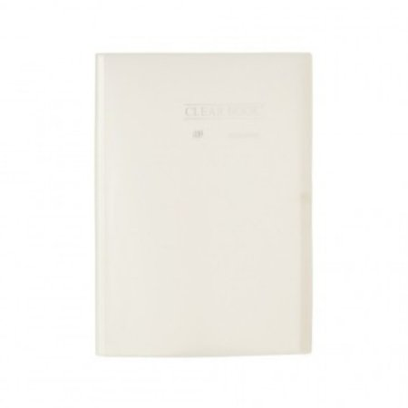 Pasta Catálogo ClearBook 20 folhas A4 Cristal