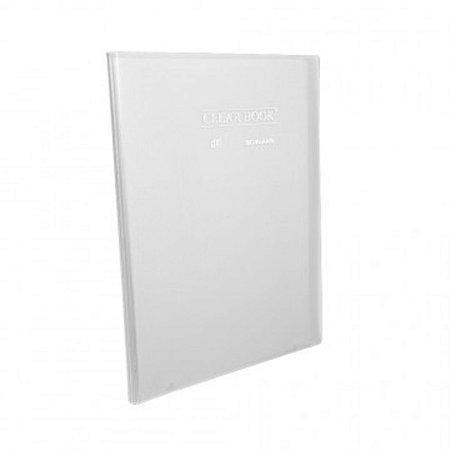 Pasta Catálogo ClearBook 30 folhas A4 Cristal
