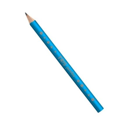 Lápis Jumbo Triangular Azul