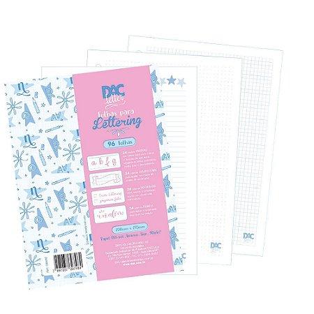 Refil Fichário Folhas Para Lettering 4 Modelos