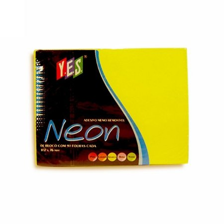 Bloco Adesivo Post It Yes Amarelo 102x76mm