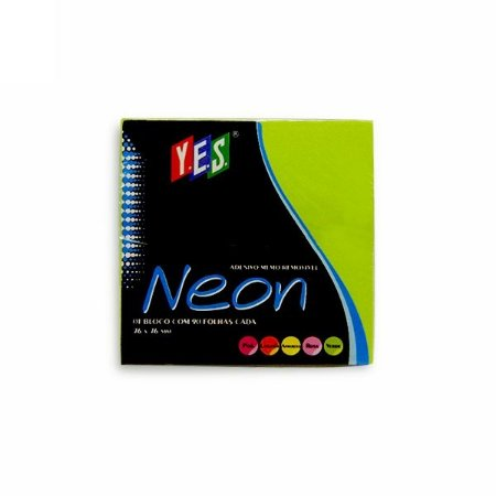 Bloco Adesivo Post It Yes Verde 76x76mm